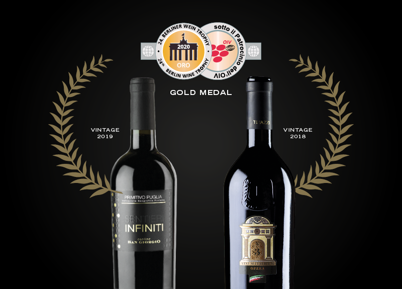 Due Medaglie d'Oro al Berliner Wein Trophy Summer