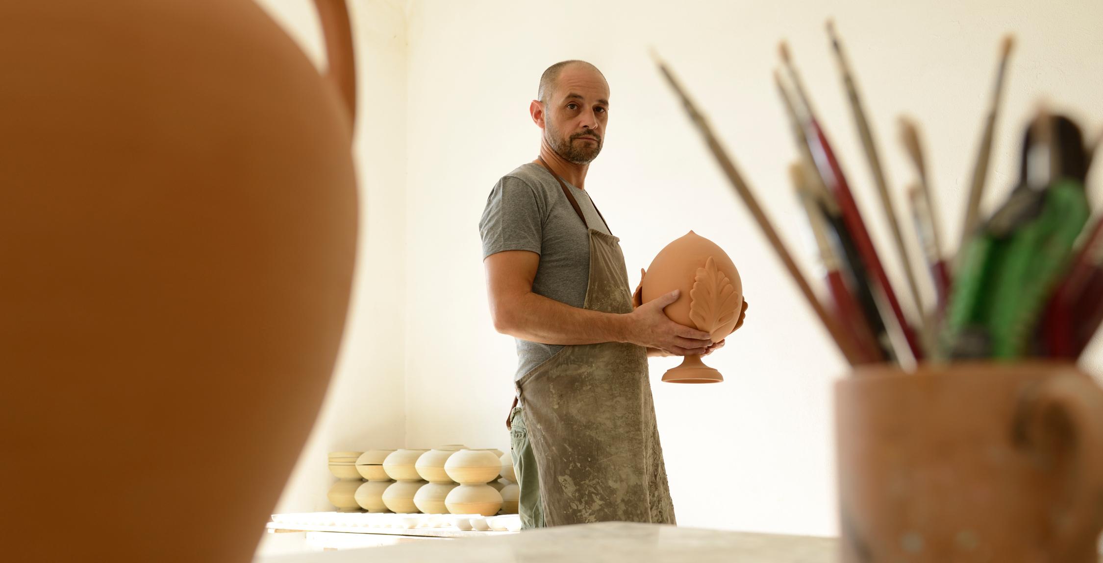 Ceramica e vino pugliese 1